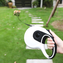 New Pet Supplies Dog Accessories Leash Roulette All for Dogs Leash Harness for Dogs Self-shrinking Cat Traction Rope Dog Outdoor