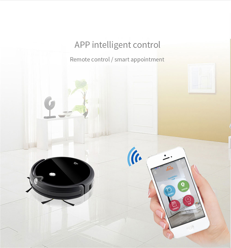 Hf14ff097a24d41179ad9e7a8bb790892C IMASS A3S Robot Vacuum Cleaner Powerful Suction For Camera Navigation Various Cleaning Mode With APP Control Auto Charge Mopping