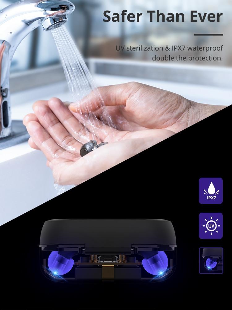cheapest Baseus S06 Wireless Bluetooth Earphone Magnetic Neckband Bluetooth Headset Sport Earphone Stereo Headphone For Samsung Xiaomi