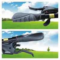 1Pair Bike Lever Grip Bicycle Cycle Soft Handle Rubber Bar Grip Cover Non-slip Soft Handlebar Bike Bar wholesale