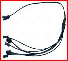 1to5 1to10 flexível luz de néon el fio driver inversor pc usb carro ciggrette plug adaptador controlador do carro led strip luz