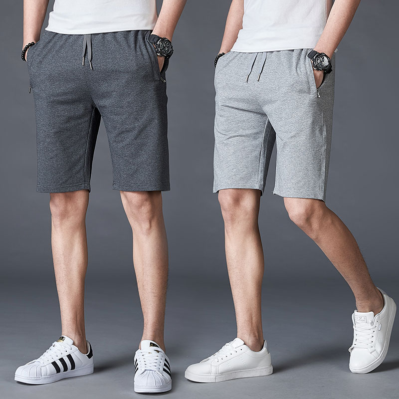 Cotton Men Shorts Casual Summer Loose Thin Shorts Cargo With Pockets Streetwear Fashion Stretch Erkek Giyim Mens Clothing XX60MS