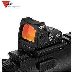 Mini Glock de collimateur de point rouge de RMR/lunette de visée réflexe de fusil ajustement 20mm Rail de tisserand pour Airsoft/fusil de chasse