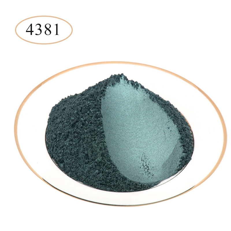 10g 50g Type 4381 Pigment Pearl Powder Natural Mineral Mica Powder DIY Dye Colorant For Soap Eye Shadow Automotive Art Crafts
