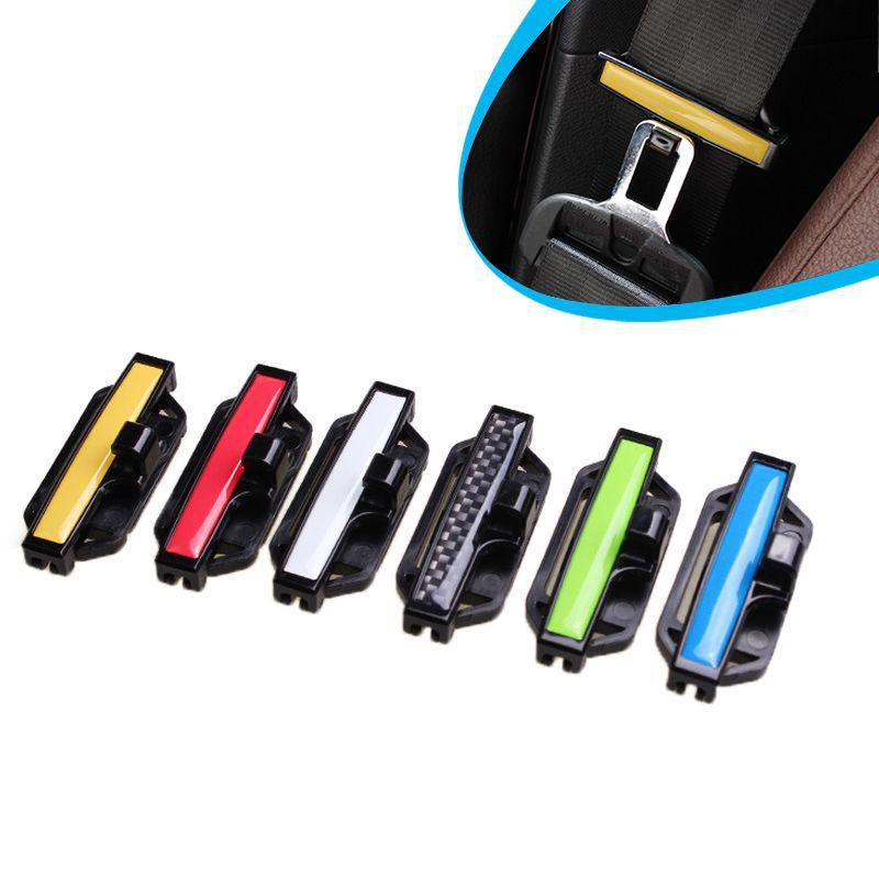 2 Pcs Universal Auto Sitz Gürtel Clips Sicherheits Einstellbare Anti-slip Auto Stopper Schnalle Clamp Befestigung Clip sitz gürtel clip