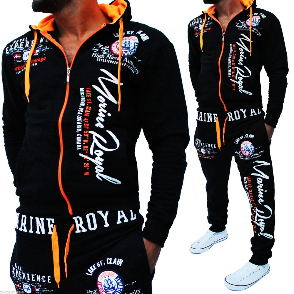 Zogaa Brand Mens Tracksuit 2 Piece Spring Autumn Sports Suit Causal Hooded Sweatshirt And Pants Matching Set Sweat Suit For Men