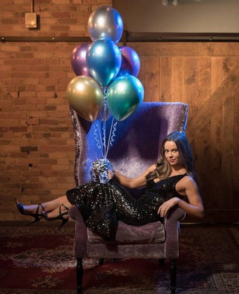 30/50/100pcs 12inch Chrome Metallic Latex Air Helium Balloons Birthday Party Wedding Decorations Baby Shower Toy Globos Balon