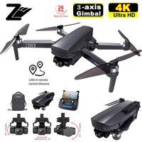 SG908 2021 Neueste Drei-Achsen Gimbal Drone Mit 4K Professionelle Kamera 5G GPS WIFI FPV Eders Bürstenlosen motor RC Quadcopter PKSG907