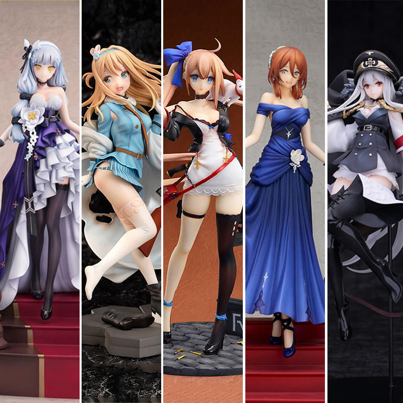 29 <font><b>CM</b></font> Funny Knights Girls` Frontline Suomi KP-31 PVC Action <font><b>Figure</b></font> 22cm Anime <font><b>Sexy</b></font> Girl <font><b>Figure</b></font> Toys Collection Model Doll Gift image