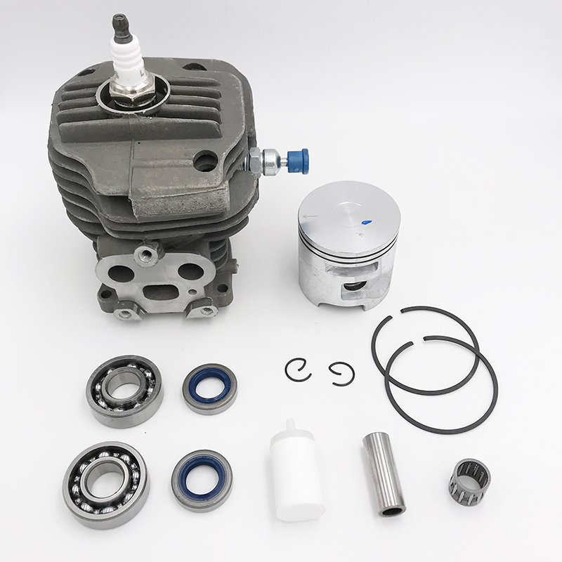 Kit K750 Bearing Saw Cylinder Chain Concrete HUNDURE Piston Cutoff Saw K760 51mm Motor Engine Grooved Ball For Parts Husqvarna
