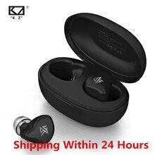 KZ S1 S1D TWS Drahtlose Bluetooth 5,0 Kopfhörer Touch Control Kopfhörer Dynamische/Hybrid Earbuds Headset ZSX ZSN PRO C12 o5 X1 E10
