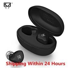 KZ S1 S1D TWS bezprzewodowe słuchawki Bluetooth 5.0 sterowanie dotykowe dynamiczny/hybrydowy zestaw słuchawkowy ZSX ZSN PRO C12 O5 X1 E10