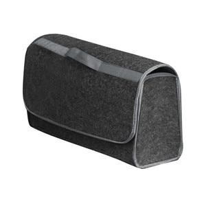 Image 2 - Портативная Складная Многофункциональная войлочная ткань, складная коробка для хранения, органайзер, чехол, ящик для инструментов, коробка органайзер в автомобиль, автомобиль, грузовик