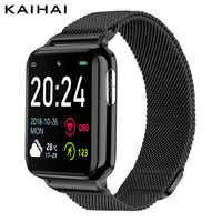 KAIHAI H69 ECG PPG SpO2 HRV трекер активности спортивные фитнес умные часы для поддержания здорового образа жизни мужские электронные измерения артер...