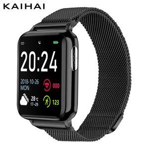 Image 1 - KAIHAI H69 ECG PPG SpO2 HRVฟิตเนสสุขภาพSmart Watchผู้ชายอิเล็กทรอนิกส์วัดความดันโลหิตHeart Rate Monitor smartwatch
