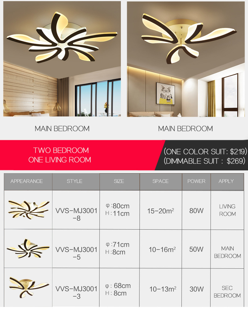 Hf1519ff4f06e436eb9001e87de8765c4V LED Ceiling Lights Dandelion Indoor Ceiling Lamp Modern Simple Post-Modern Living Room Bedroom Dining Room Study Room