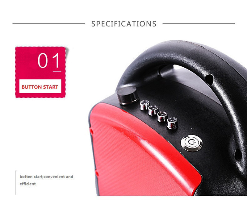Daibot Portable Electric Scooter One Wheel Self Balancing Scooters Buletooth Speaker 14 Inch 350W 60V Electric Unicycle Scooter  (48)