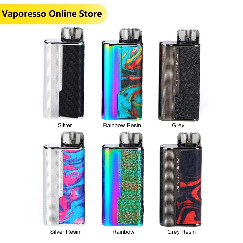 Original Vaporesso XTRA Pod System Kit With 900mAh Battery & 2ml XTRA Pod Electronic Cigarette Vape Kit Vs Vinci X / Targe PM80