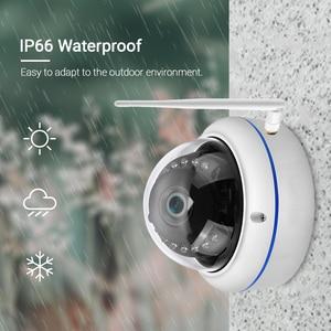 Image 5 - HD1080P Wifi kamera iCSee ONVIF kablolu kablosuz IP kamera Vandal geçirmez su geçirmez açık kamera ses kayıt RTSP Xmeye bulut
