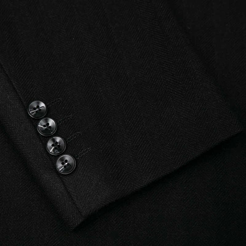 8XL 7XL Nuovo Slim Fit casual giacca di Cotone Uomini Giacca Sportiva Giacca Singolo Pulsante Mens Giacca 2020 di Autunno del Cappotto Patchwork maschio Suite