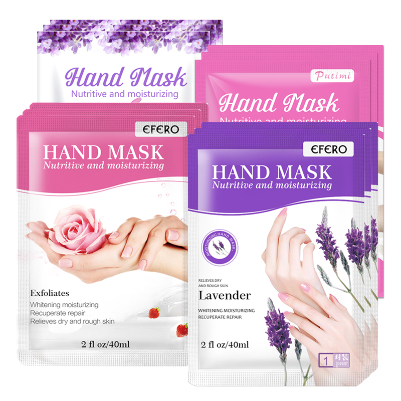 Putimi Whitening Hand Mask Essence Moisturizing Nourishing Hydrating Dead Skin Remove Hand Care Spa Gloves Masks Repair Gloves
