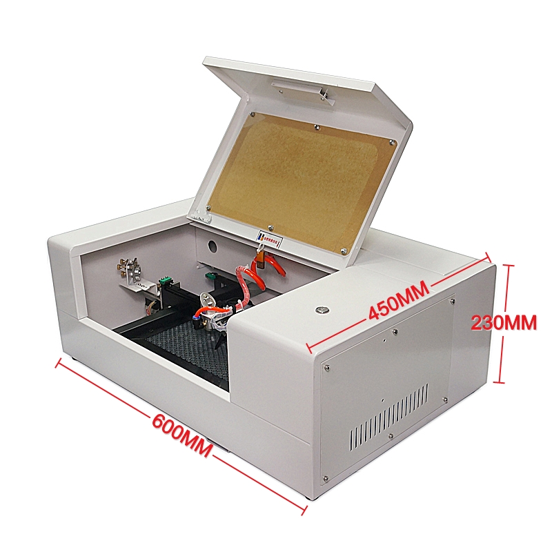 LY Mini Laser 2015/1520 30W CO2 Laser Engraver Engraving Cutting Machine Kit With Honeycomb Board USB Port Work Size 200*150mm