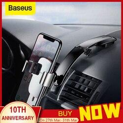 Baseus Car Phone Holder For iPhone Samsung Mount Holder Foldable Gravity Mobile Phone Holder for Dashboard Paste Holder Stand