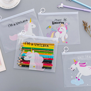 Cute Unicorns PVC Transparent