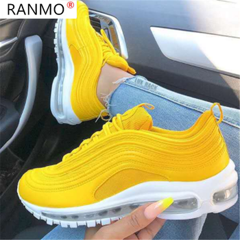 Autumn Women Sneakers Fashion Women Lace-up Vulcanized Shoes Platform Sneakers Casual Shoes for Woman Zapatillas Mujer 2021 New