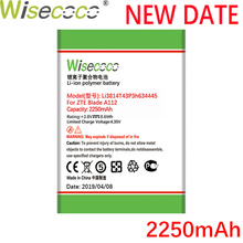 цена на Wisecoco 2250mAh Li3814T43P3h634445 Battery For ZTE Blade L110 A112 V815W CellPhone Latest Production Battery+Tracking Number