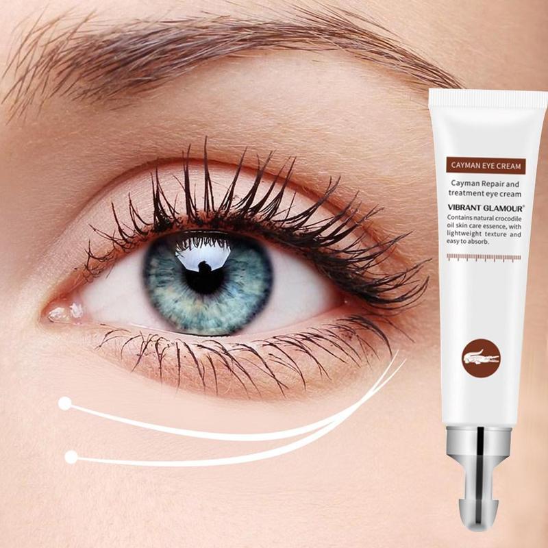 Eye Cream Anti-Wrinkle Peptide Collagen Removal Dark Circle Anti-Puffiness Eye Care Cream Moisturizing Eyes Serum 20g