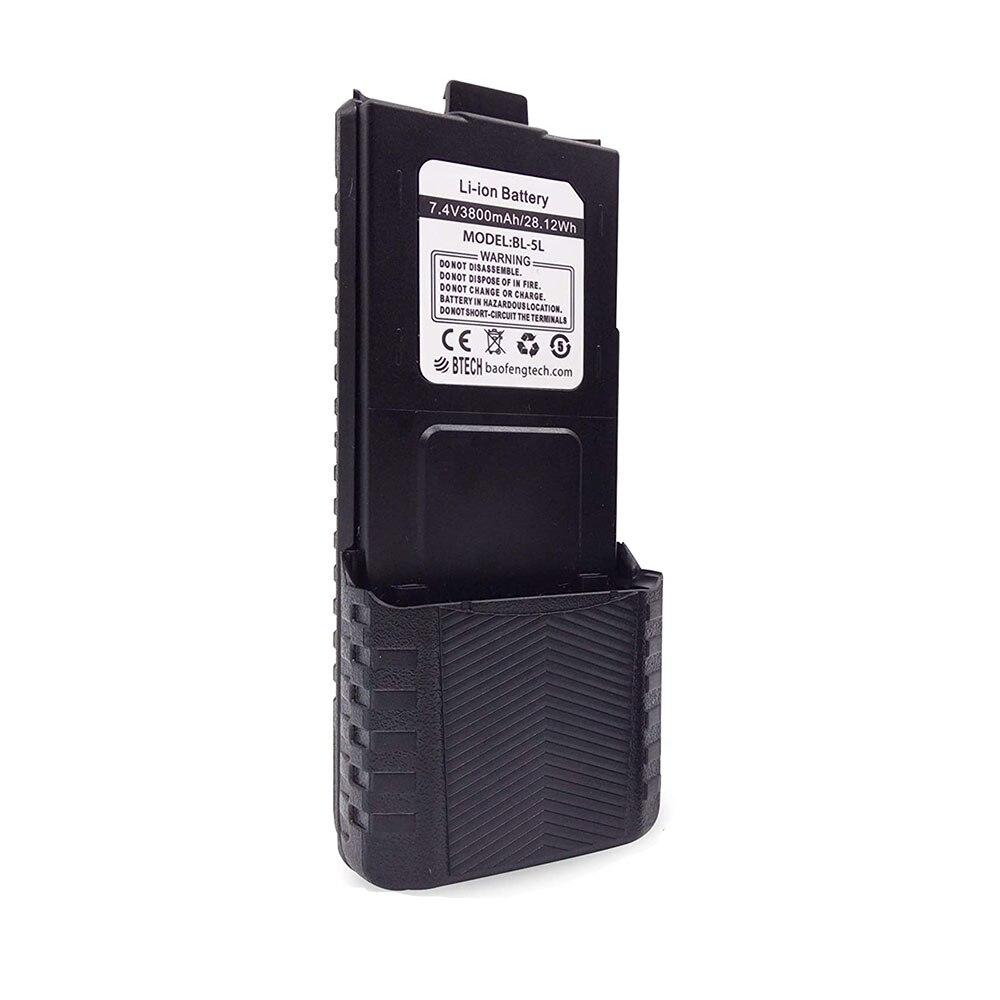 D'origine BAOFENG UV-5R 3800mAh Batterie Étendue pour UV5R UV 5r RD-5R UV-5RTP UV-5R Plus UV-5RE UV-5RA 5RB F8 + F8HP BL-5 radios