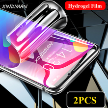 25D Front+Back hydrogel film for meizu Note6 note8 note9 soft screen protector f