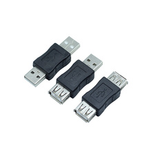 USB Female to Socket USB2.0 Male Connector Extension Charger Adapter 1pcs