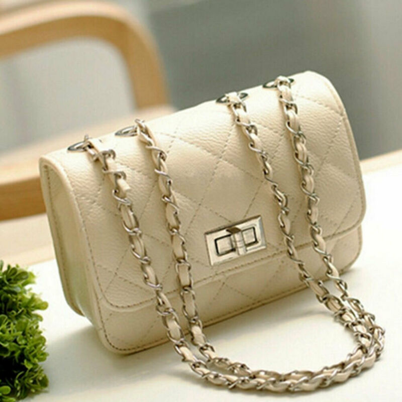 1PC Luxury Women Leather Handbag High Quality PU Shoulder Bag Brand Designer Crossbody Bags Small Fashion Ladies Bags