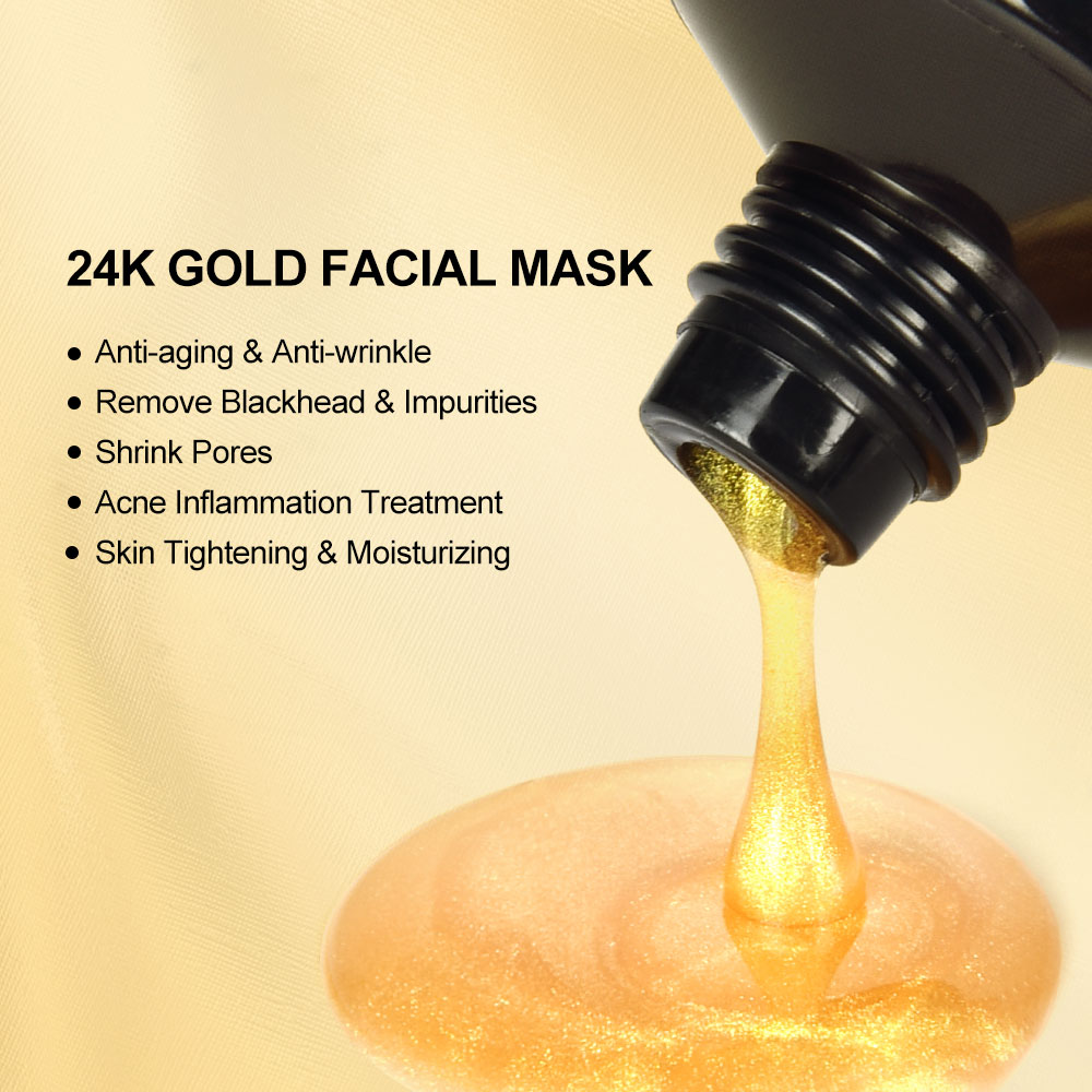 24K Gold Anti-Aging Collagen Face Mask
