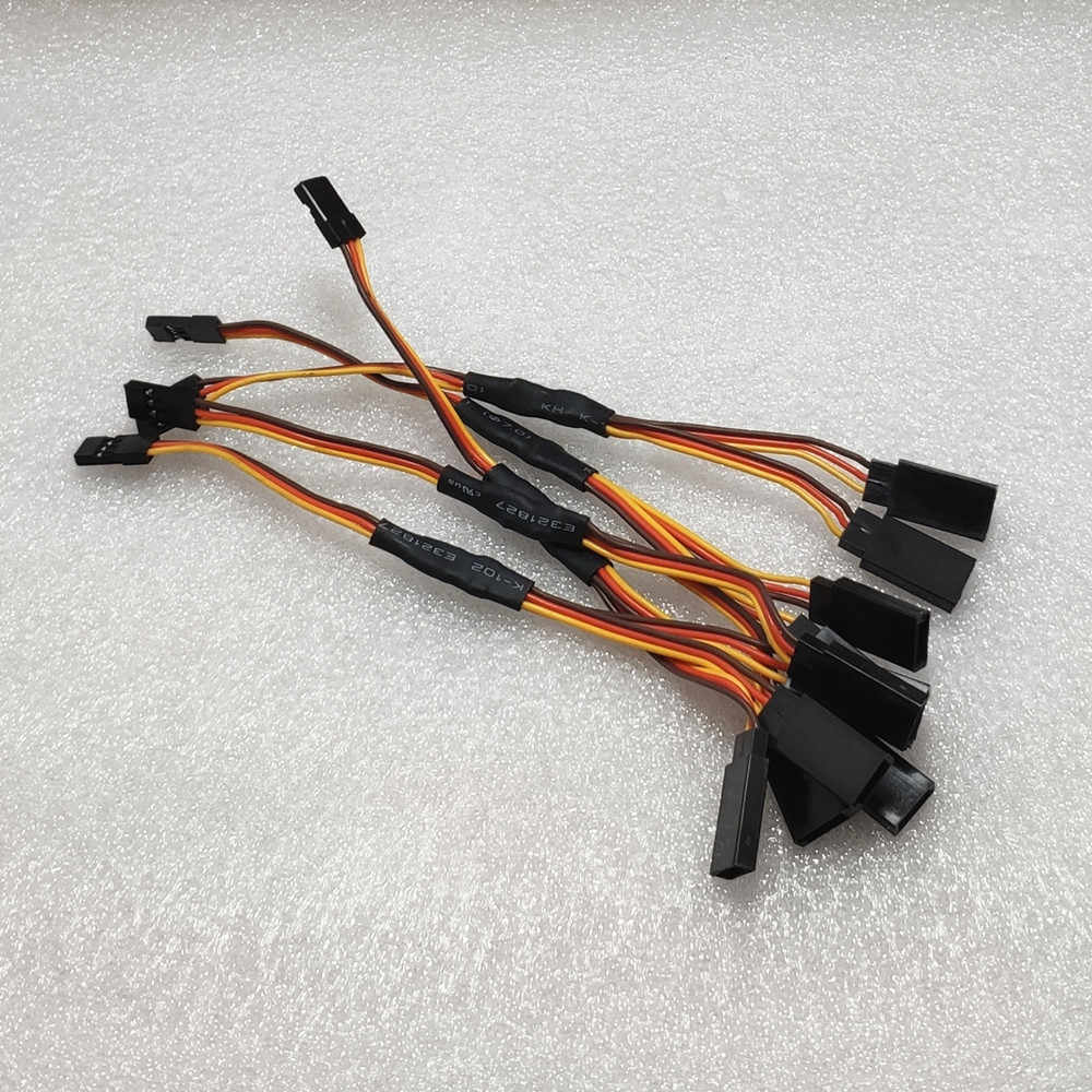 5Pcs Servo Extension Lead Wire Cable for RC Futaba JR Male to Female Connector