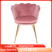 Armchair-Makeup Dressers Dinner-Chair Bedroom Office Velvet Cafe-Seats Retro Home