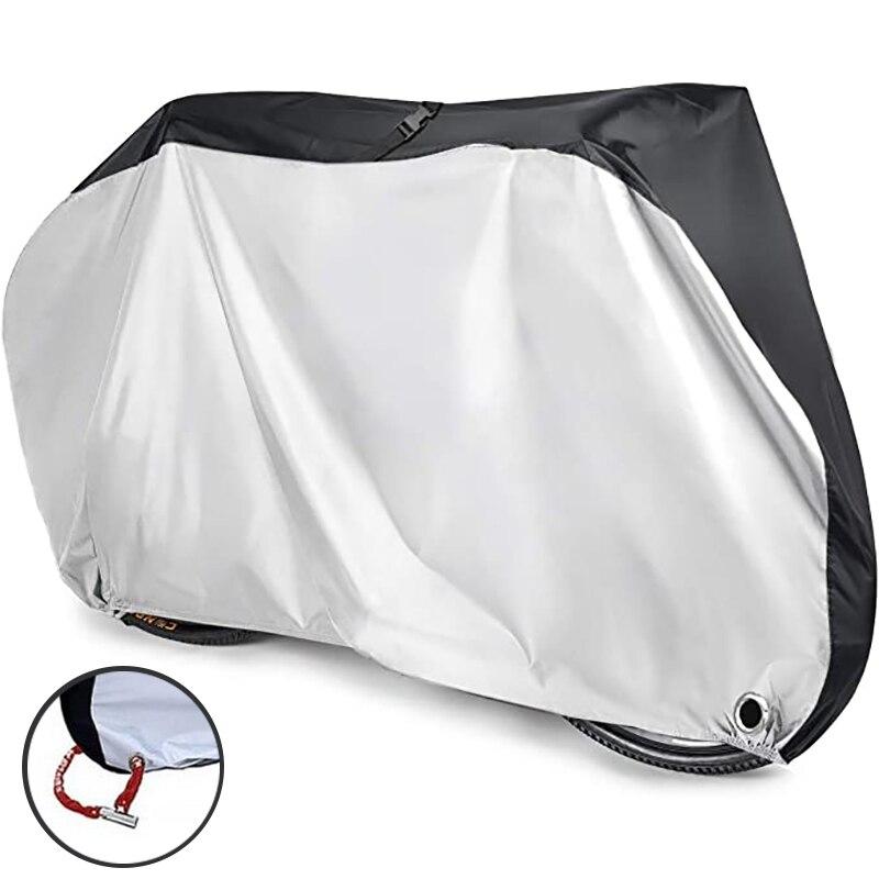 自転車保護カバーS-XLサイズ防水バイクバイクカバー防塵uv保護屋外サイクリング自転車レインカバー