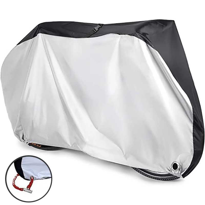Bicycle Protective Cover S-XL Size Waterproof Motorbike Bike Cover Dustproof UV Protective Outdoor Cycling Bicycle Rain Cover