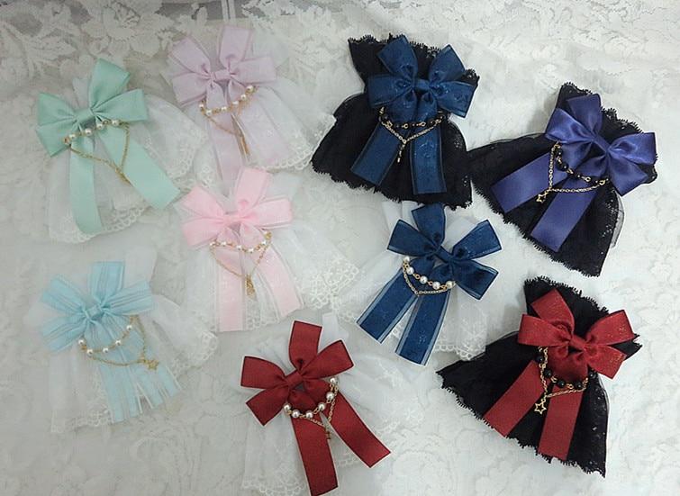 Lolita Origional Versatile Gothic KILL Bride Double Layer Lace Lolita Hand Cuff Gloves Small Accessories