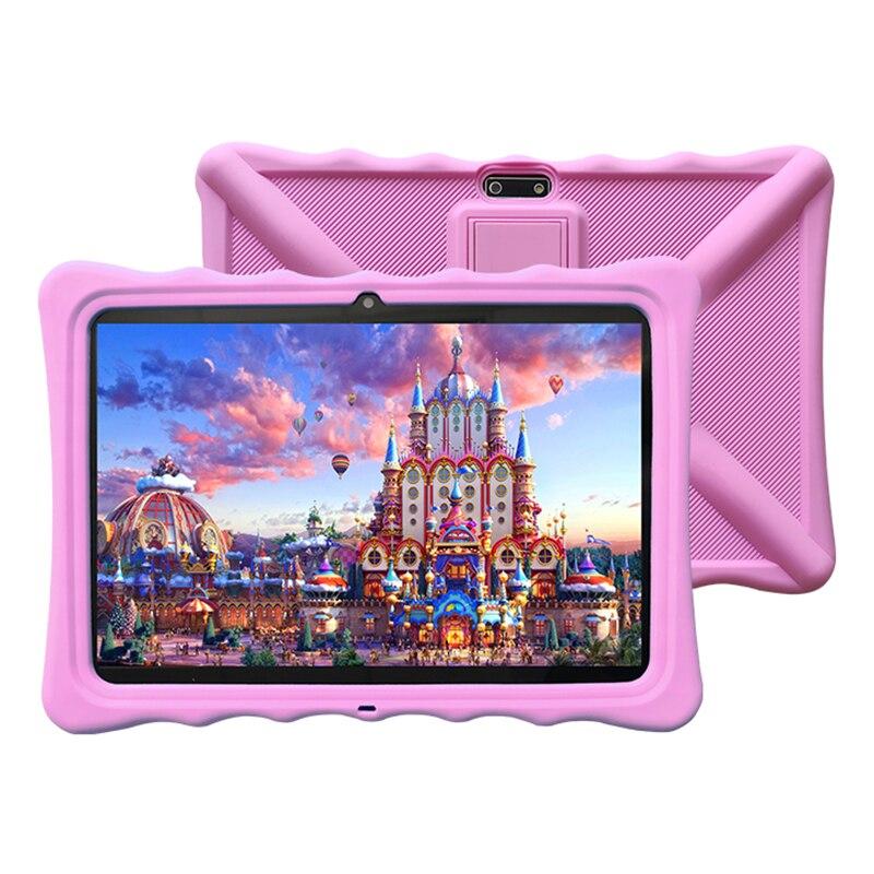 Veidoo crianças tablet 3g telefone chamada dupla sim cartão slors 10 polegada educacional android criança tablet pc para aprender