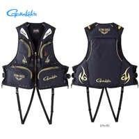 Gamakatsu Fishing Vest Outdoor Vests Swim Save Life Vest Large Buoyancy Fishing Save Life Jacket Safety Multi Pocket Vest 120kg