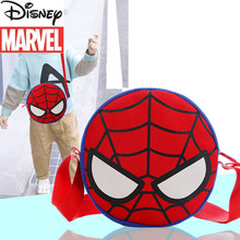 Disney Marvel Spider-Man Boy One-shoulder Messenger Bag New Boys' Coin Purse Fashion Travel Storage Children's Messenger Bag