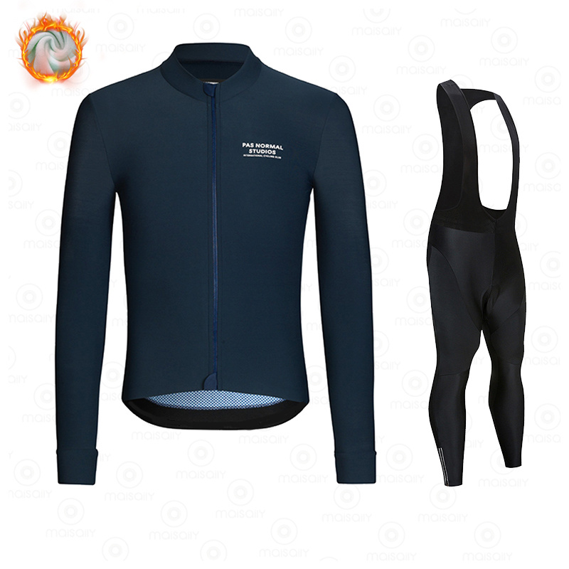 New Winter Fleece 2021 PNS Pro Man Cycling Jersey Mountian Bicycle Clothes Wear Ropa Ciclismo Racing Bike Clothing Cycling suit 3