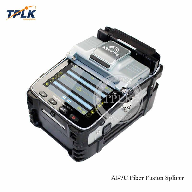送料無料 AI-7C 融着接続機 SM/MM 自動スプライサーため FTTH 光ファイバ溶接機用光ファイバ溶接