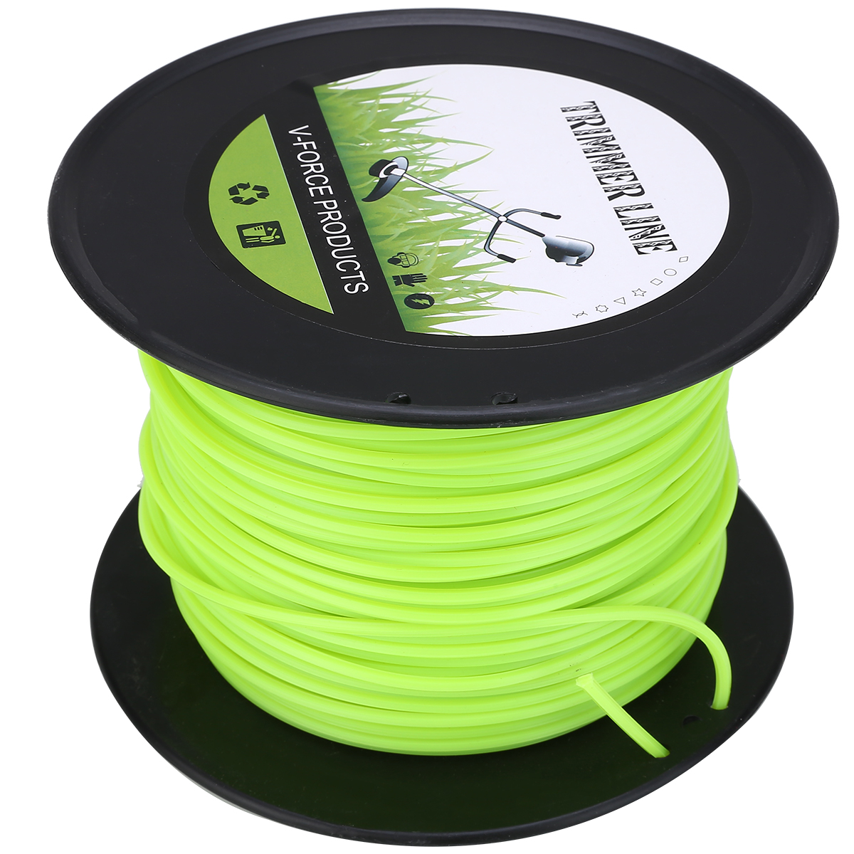 100m Lawn Mower Trimmer Nylon Line Rope Diameter 3mm Trimmer Thread Rope Mowing Wire For Large Scale Cutting Mowing