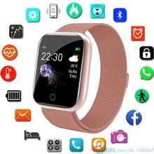 Sport Stainless Smart Watch Woman Men Smartwatch Heart Rate Mens Smart