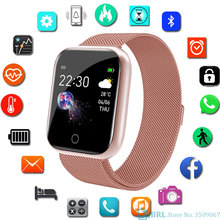 Sport Stainless Smart Watch Woman Men Smartwatch Heart Rate