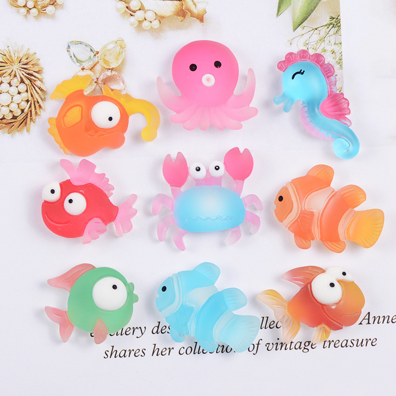 Boxi Cute Slime Additives Charms Plastic Cartoon Kawaii Accessories DIY Kit Filler For Fluffy Cloud Clear Slime Clay